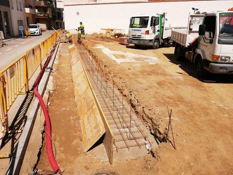 S'adequa una nova placeta entre els carrers Gravina i Ramon i Cajal