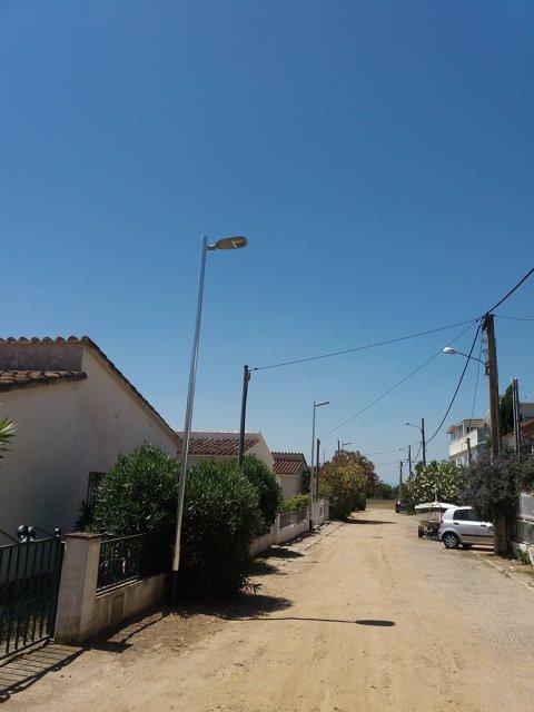 Mejora alumbrado público en la urbanización de los Argonistes
