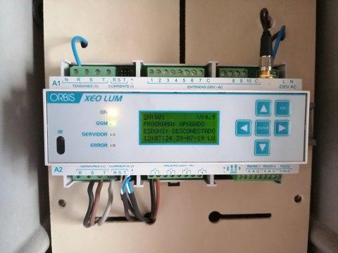 Es segueix implantant l'enllumenat telegestionat per a una major efìciència energètica