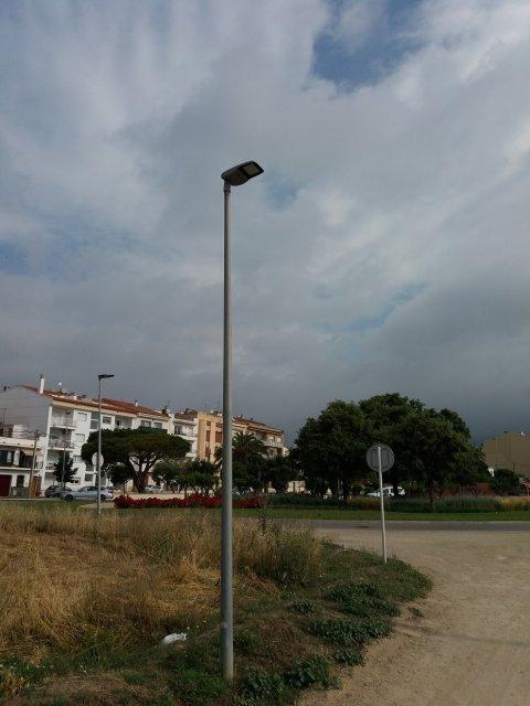Substitución luminarias calle Comapedrosa