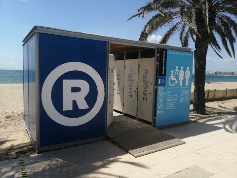 Obertura i reobertura dels lavabos municipals